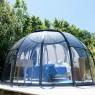 hébergement insolite rhone alpes dôme bulle romantique